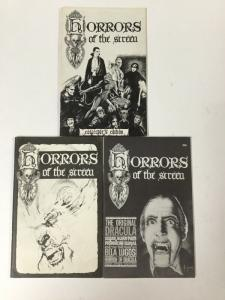 Horrors Of The Screen 1 2 3 All Near Mint Nm Complete Set