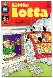 LITTLE LOTTA #94 1971-HARVEY COMICS TRUMPET MUSIC COVER FN