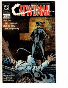 Lot Of 3 Catwoman DC Comic Books # 2 3 4 Batman Flash Arrow Superman Joker J220