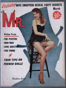Mr. 3/1958-cheesecake-pin-up pix-Barbara Loden-Brigite Bardot-VG/FN