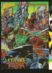 Wizard Image #9 STRYKE FORCE #1 1993 Promo Card