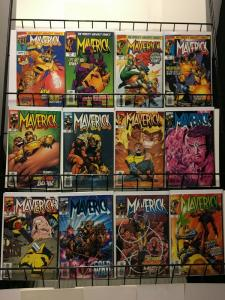 MAVERICK (1997) 1-12  Mutant Universe Spinoff Complete!