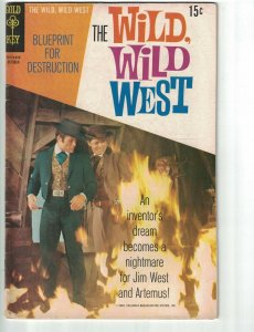 Wild, Wild West, The (Gold Key) #7 VG; Gold Key | low grade comic - save on ship