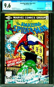 Amazing Spider-Man #212 CGC Graded 9.6 Origin & 1st Appearance of Hydro-Man