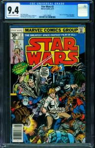 STAR WARS #2 CGC 9.4 1977-A NEW HOPE-2021159005