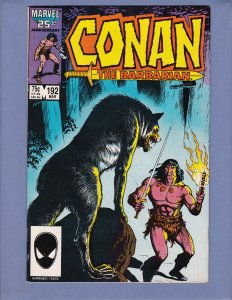 Conan The Barbarian #192 FN Marvel 1987