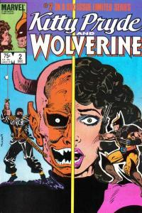 Kitty Pryde and Wolverine #2, NM- (Stock photo)