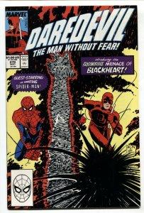 DAREDEVIL #270 1989 -1st appearance of BLACKHEART-Marvel VF/NM