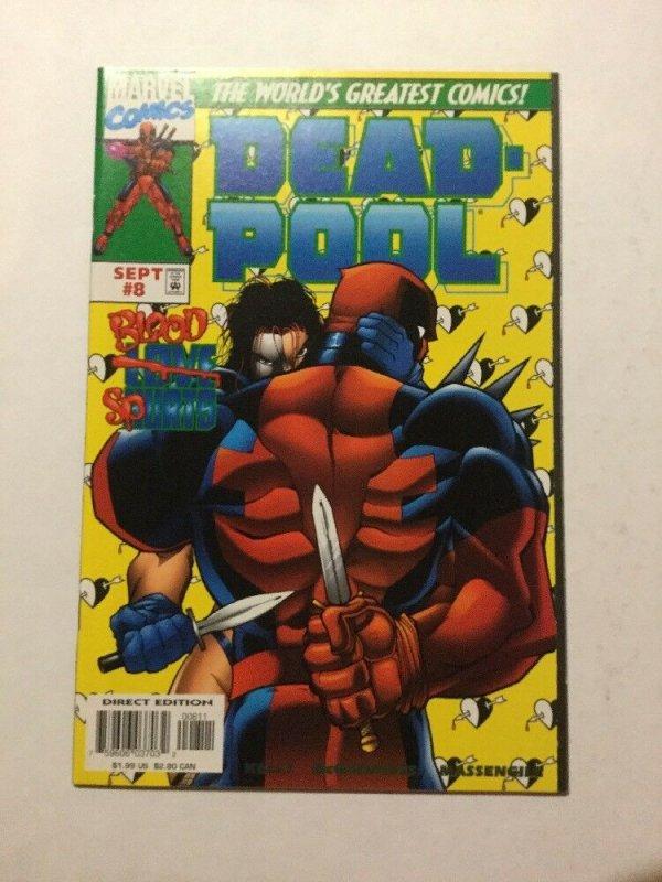 Deadpool 8 NM Near Mint