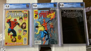 Amazing Spider-man 1-58 V Vol Volume 2 Complete Cgc 9.8 1 5 36 442-499