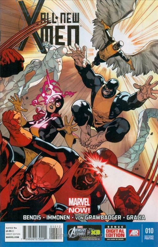 All-New X-Men #10 (2nd) VF/NM; Marvel | save on shipping - details inside