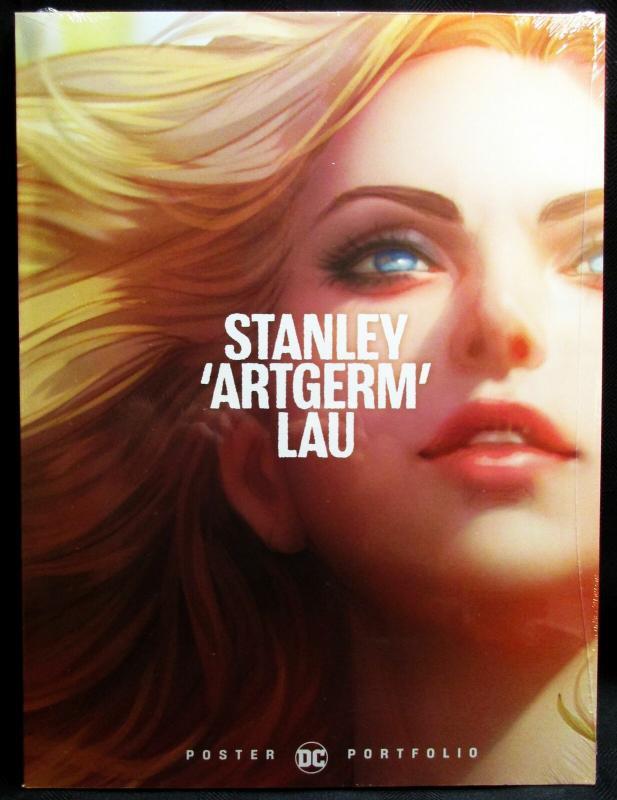 Stanley Artgerm Lau 20 Poster Portfolio 12 x 16 (DC, 2019) New/Sealed!