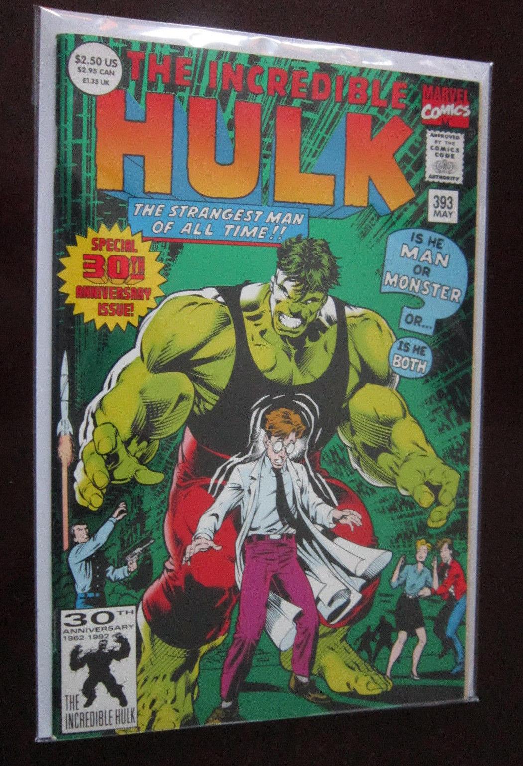 Incredible Hulk (1992 1st Series) #393, DIRECT EDITION, 8 0/VF