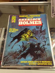 Marvel Preview 5 FN/FN+  1st appearance of Sherlock Holmes & Watson
