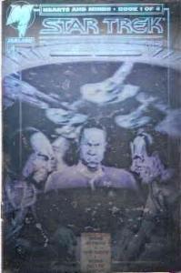 Star Trek: Deep Space Nine Hearts and Minds #1A VF; Malibu | save on shipping -