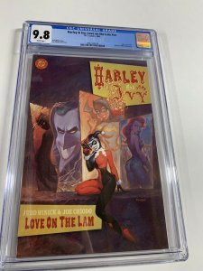 Batman: Harley And Ivy Love On The Lam 1 Nn Cgc 9.8 White Pages Dc Comics