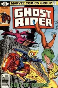 Ghost Rider (1973 series) #38, VG+ (Stock photo)