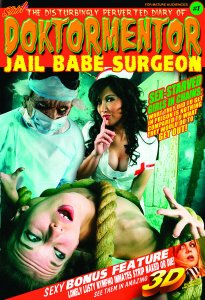 DOKTORMENTOR JAIL BABE SURGEON Issues 1-3 with 3-D GLASSES and CD-ROM.