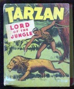 Tarzan Lord Of The Jungle #1407 1948 Whitman-Big Little Book-ERB-VG
