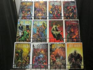 ARCANUM (1997 IM/TOP COW) 1,1A,2-4,4A,5-8  COMPLETE +