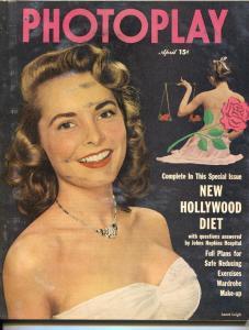 Photoplay-Janet Leigh-Kirk Dougla-Katherine Hepburn-Alan Ladd-April-1950