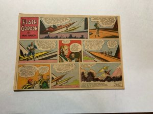 Flash Gordon's 1957 Tabloid Color Newspaper Sundays Lot Of 21