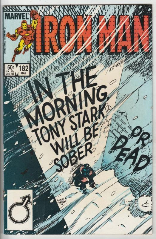 Iron Man #182 (May-85) NM/NM- High-Grade Iron Man
