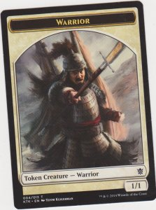 Magic the Gathering: Token - Warrior