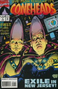 Coneheads #1 VF/NM; Marvel | save on shipping - details inside
