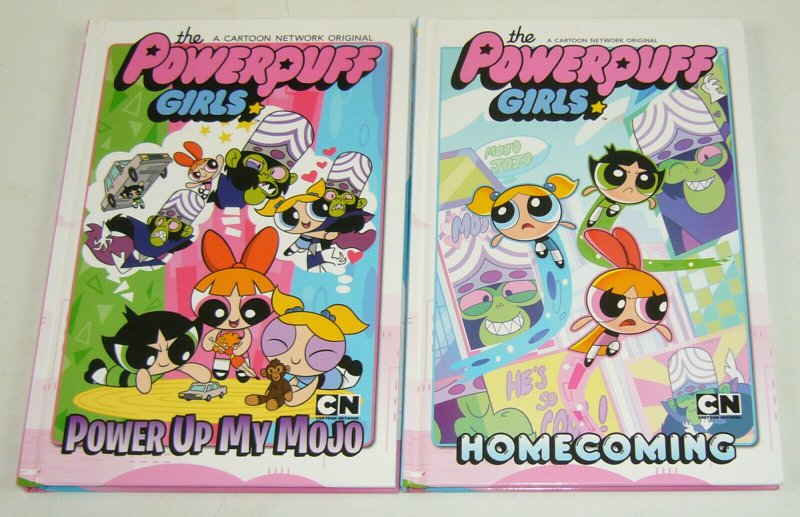 Powerpuff Girls HC 1-2 VF/NM complete series - power up my mojo - homecoming set