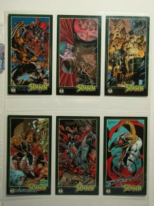 Six 1995 Image Comics SPAWN Art Cards AUTOGRAPHED DAN NORTON & MORE L@@K!!