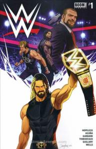 WWE #1 VF/NM; Boom! | save on shipping - details inside