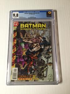 Batman Shadow Of The Bat 93 Cgc 9.8 White Pages 4th Appearance Of Harley Quinn