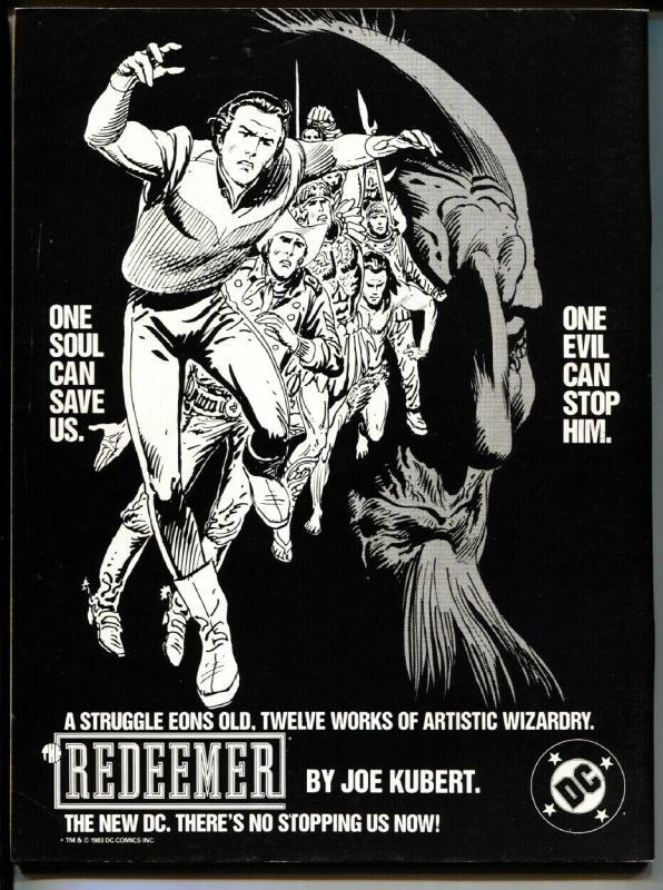 Comics Journal #85-1983 First BLACK COSTUME SPIDER-MAN VF