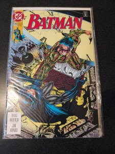 BATMAN #490 (1993) DC COMICS TRAVIS CHAREST COVER ART! 4TH APPEARANCE OF BANE!