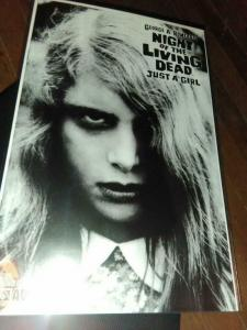 NIGHT of the LIVING DEAD #1, Just a Girl, NM, George Romero, 2007, Limited