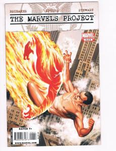 The Marvels Project # 6 NM Marvel Comic Book Avengers Fantastic Four Namor S82