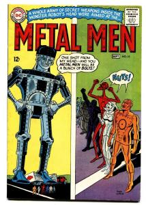 Metal Men #15 1965 comic book DC Silver Age- Robot cover