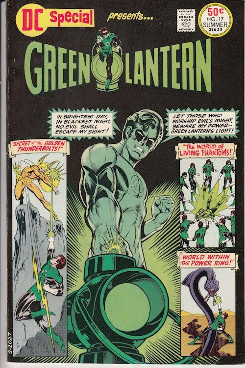 1975-DC-Special-Presents-17-Green-Lantern-square-bound-VF-Mike-Grell-Cover