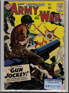 Our Army at War #82 (DC, 1959) KEY 1st Sgt Rock CBCS 3.5