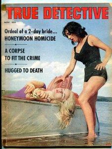 TRUE DETECTIVE-NOV/1963-HONEYMOON-CORPSE-HOMICIDE-SEA MONSTERS! G