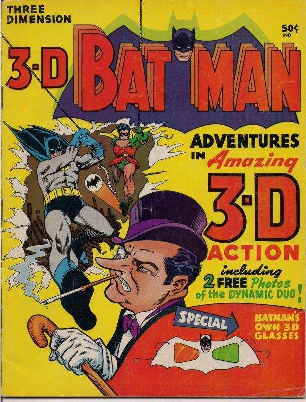 DC Comics,1966,3D,Three Dimension BATMAN,Tommy Tomorrow,Bill Finger,Otto Binder