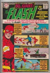 Flash, The #160 (Apr-66) FN/VF Mid-High-Grade Flash