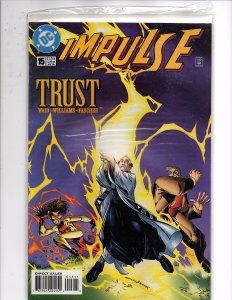 DC Comics Impulse (2000) #15 Mark Waid Story Humberto Ramos Cover & Art