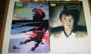 ASYLUM  (1989 NCG)  1-2 Wrightson, JJ Muth, Kyle Baker