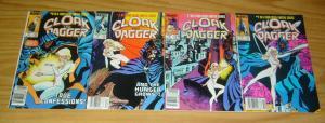 Cloak & Dagger #1-4 VF/NM complete series - all newsstand variants - marvel set