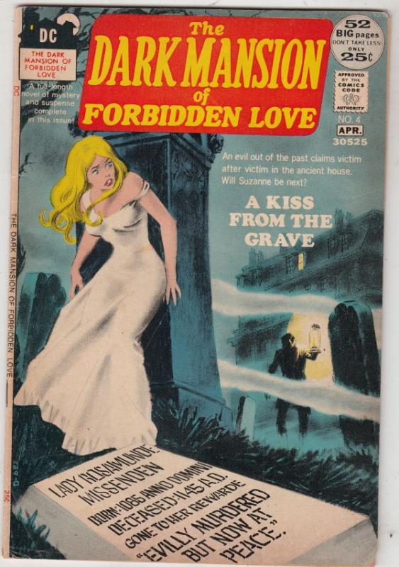 Dark Mansions Of Forbidden Love, The #4 (Apr-72) FN+ Mid-High-Grade