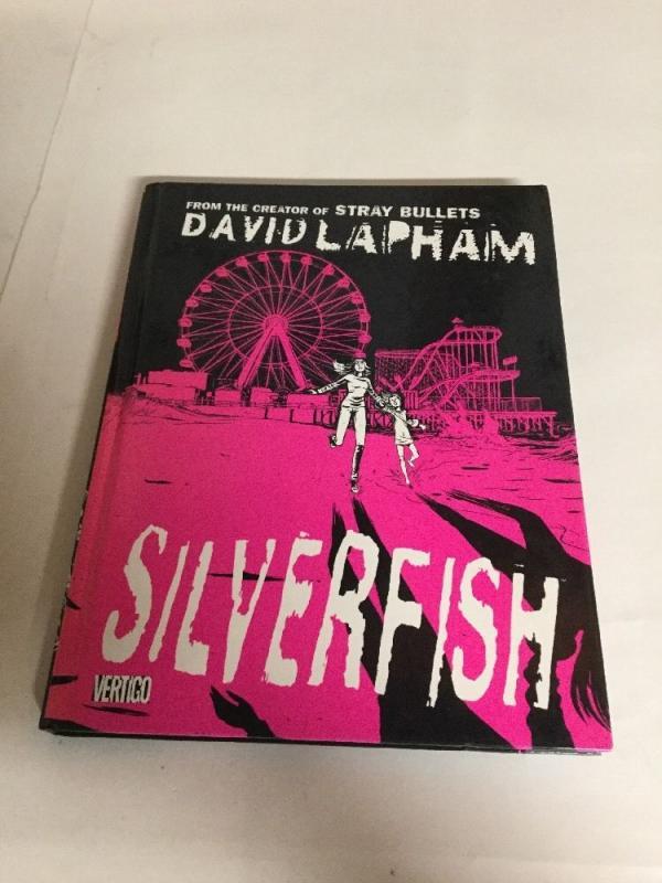 Silverfish Hc Nm Near Mint David Lapham DC Vertigo Comics TPB