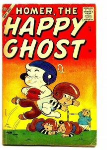 HOMER THE HAPPY GHOST #14 1958-DAN DECARLO-FOOTBALL COVER-VG