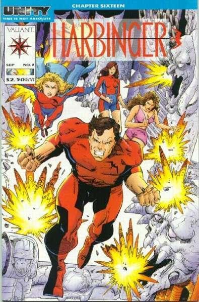 Harbinger (1992 series) #9, NM + (Stock photo)